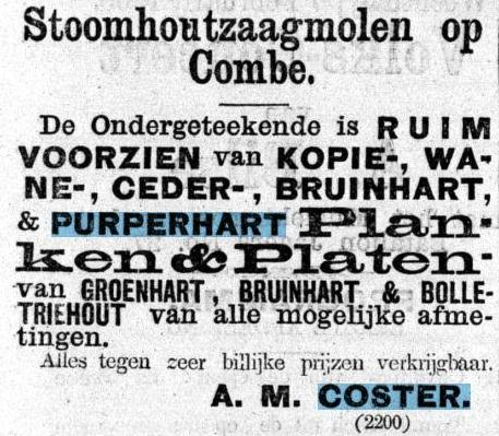 Advertentie De Kolonist 4 februari 1866