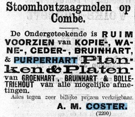 Advertentie De Kolonist 4 februari 1866