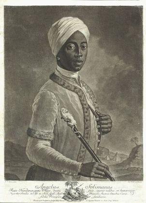 Angelo Soliman um 1750
