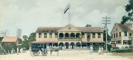 Paramaribo postkantoor