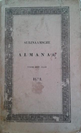 Almanak 1832 klein