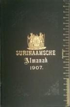 Surinaamsche Almanak voor het jaar 1907.