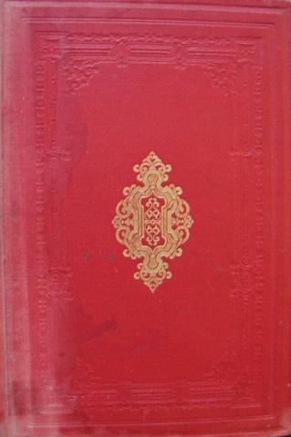 Band van Beknopt handboek voor de Aardrijkskunde der kolonie Suriname. J.Bueno Bibaz. Groningen: J.B. Wolters, 1881