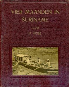 Vier maanden in Suriname, cover (1915)