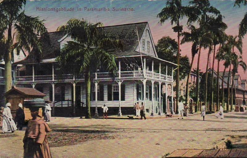 Missie gebouw Paramaribo