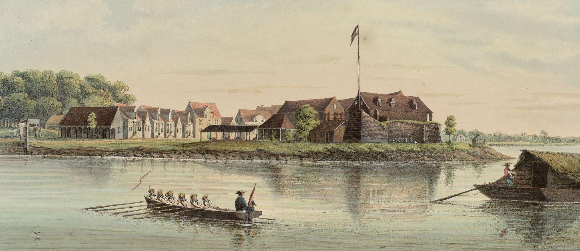 Fort Zeelandia  detail (G.W. Voorduin)