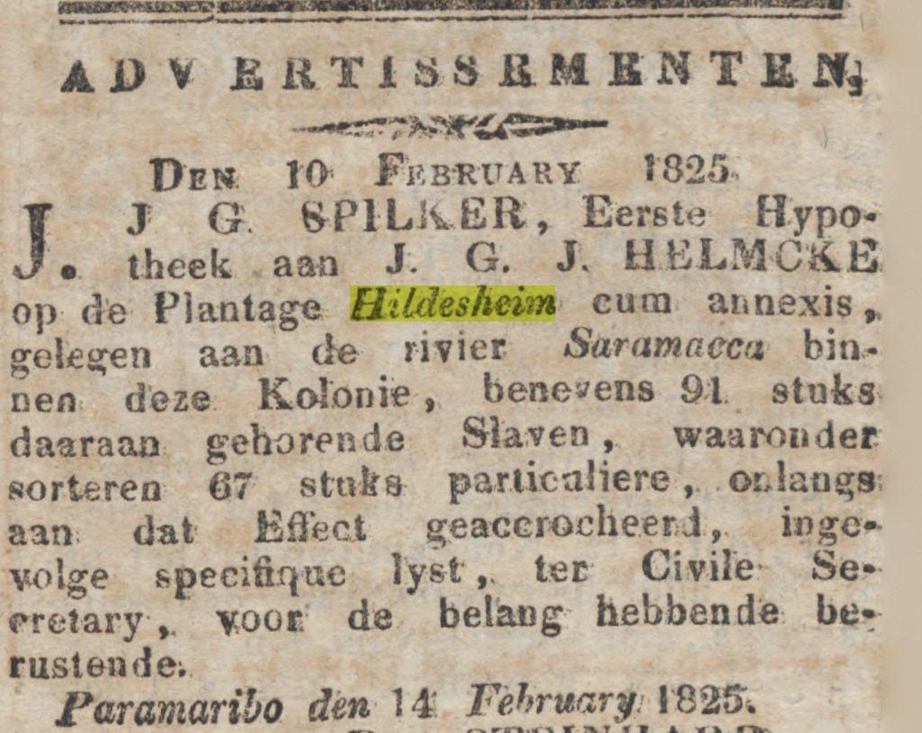 Gepriv Sur Courant 14 feb 1825
