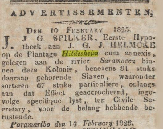 Gepriv Sur Courant 14 feb 1825