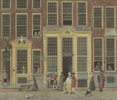 boekverkoper kalverstraat