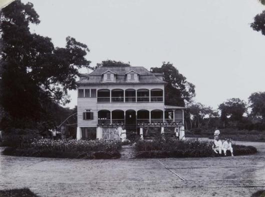 tropenmuseum_royal_tropical_institute_objectnumber_60006282_directeurswoning_op_plantage_voorburg