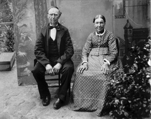 Gijsbertus_Overeem en vrouw