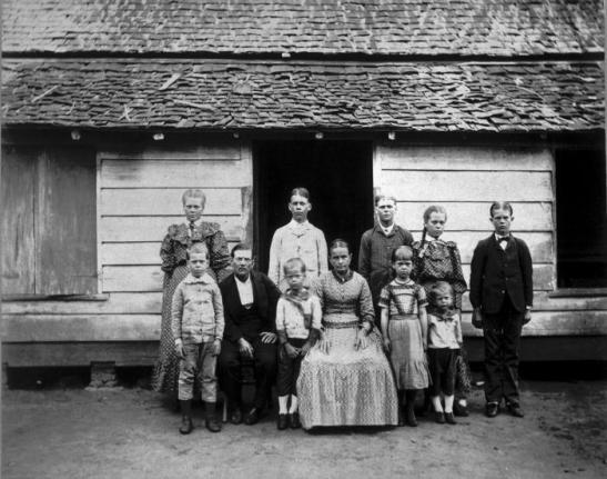 familie Loor 1893