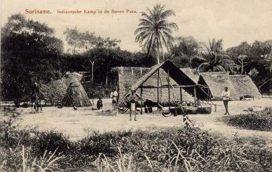 Indiaansche kamp in de boven Para