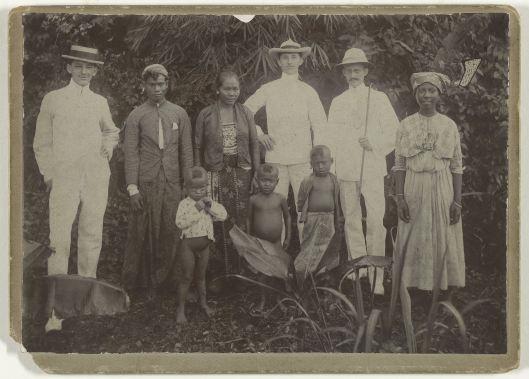 Groepsfoto Suriname 1909